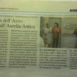Articolo La Nazione AVO Grosseto