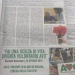 Pagina AVO Regionale La Repubblica Firenze ridotta